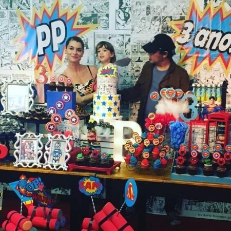 Alinne Moraes comemora o aniversário de três anos do filho - Reprodução/Instagram ruppfestas