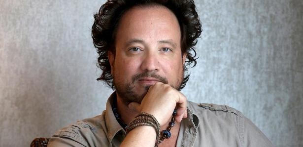 """Giorgio Tsoukalos, do programa """"Alienígenas do Passado"""" no History Channel e famoso por memes com """"Aliens"""""""