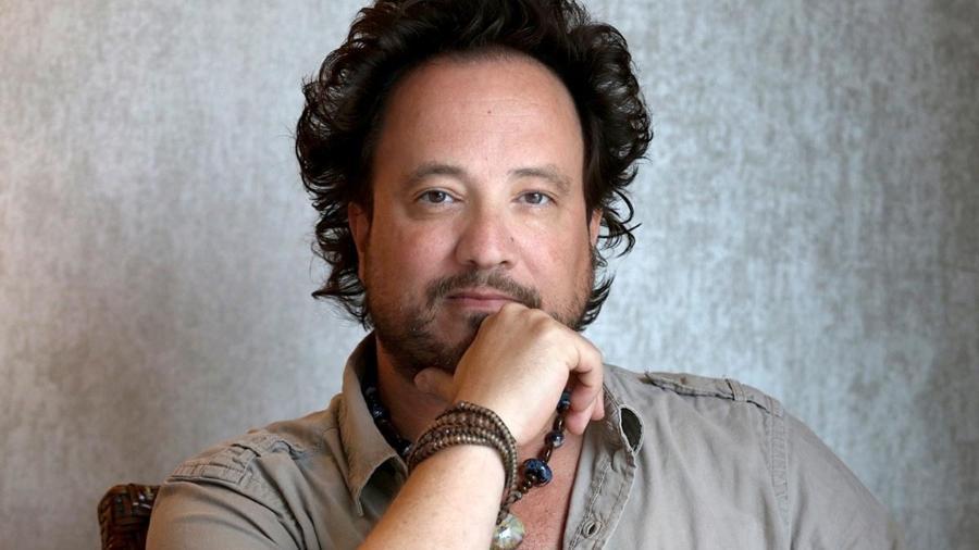 """Giorgio Tsoukalos, do programa """"Alienígenas do Passado"""" no History Channel e famoso por memes com """"Aliens"""" - Divulgação/History Channel"""