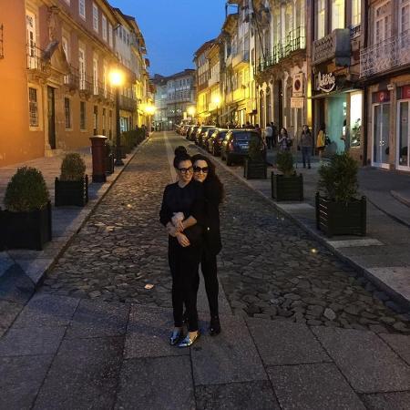 Letícia Lima publica foto de viagem com a namorada, Ana Carolina - Reprodução/Instagram/aleticialima