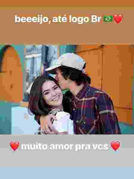 Maisa posta foto romântica com youtuber - Reprodução/Instagram/maisa - Reprodução/Instagram/maisa