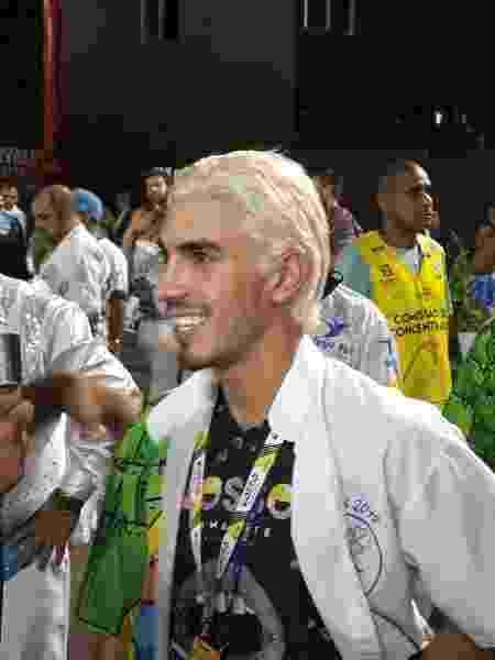 Gabriel David, da Beija-Flor, no Desfile das Campeãs - Rafael Lemos/UOL