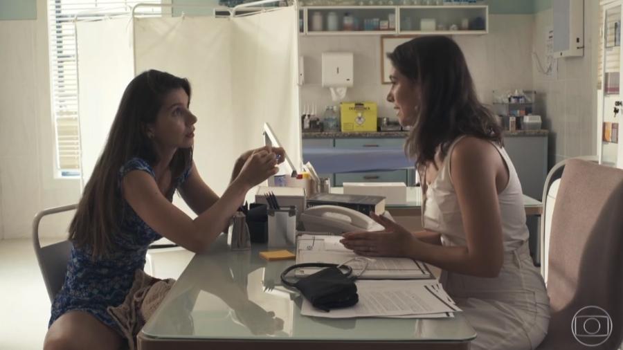 """Desirée se consultou com Tônia em """"O Outro Lado do Paraíso"""" - Reprodução/Globo"""