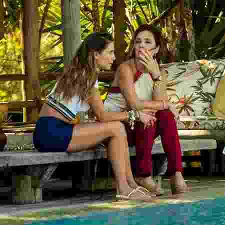 Adriana Esteves e Deborah Secco - Divulgação/TV Globo - Divulgação/TV Globo