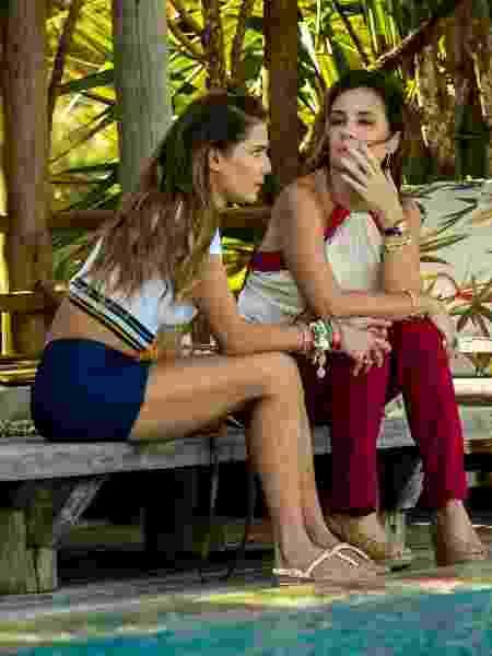 Karola ( Deborah Secco) e Laureta (Adriana Esteves) são duas vilãs da nova trama das 21h - Divulgação/TV Globo - Divulgação/TV Globo