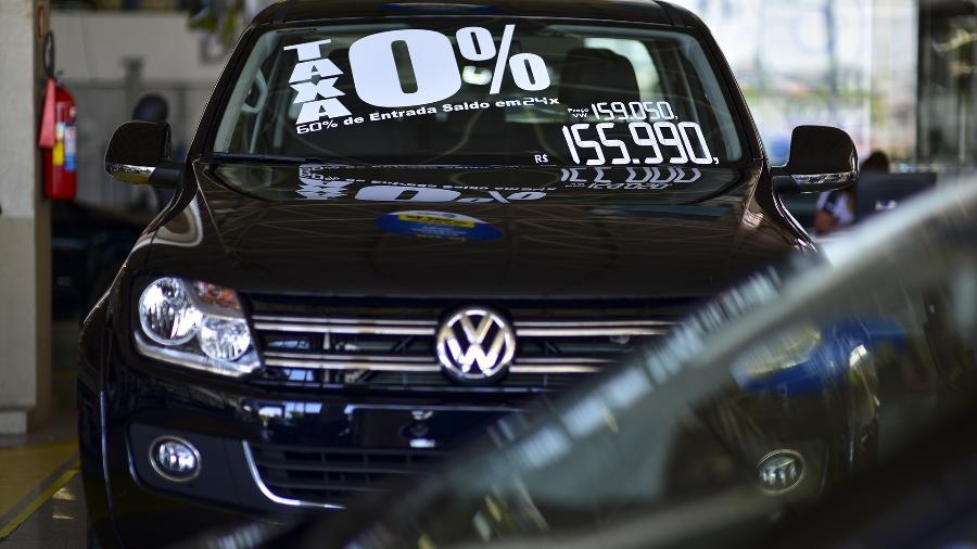 Venda de carros em um concessionária da Volkswagen -  Lucas Lacaz Ruiz/A13