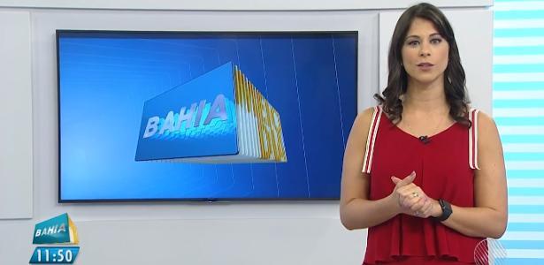 Jessica Senra, âncora da TV Bahia, afiliada da Globo na Bahia