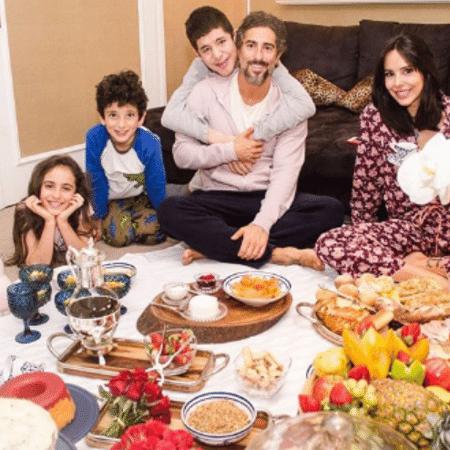 Marcos Mion em família - Reprodução/Instagram
