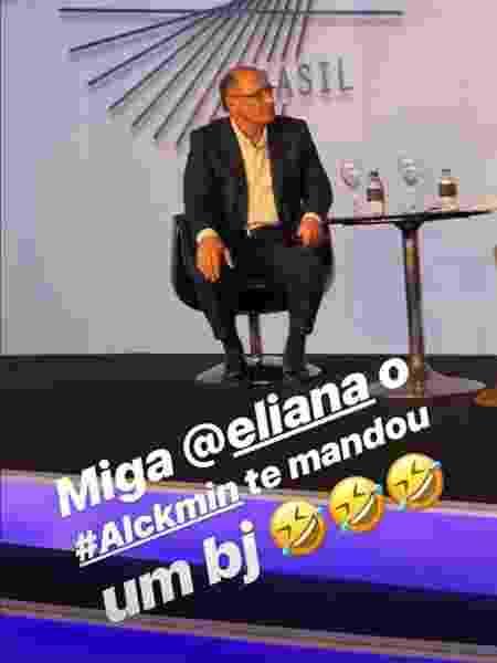 Angélica ri de gafe cometida por Alckmin - Reprodução/Instagram - Reprodução/Instagram