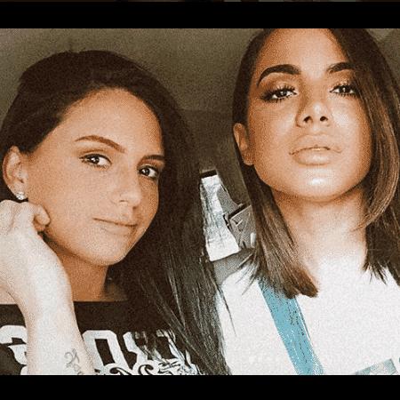 Jeni Monteiro e Anitta - Reprodução/Instagram