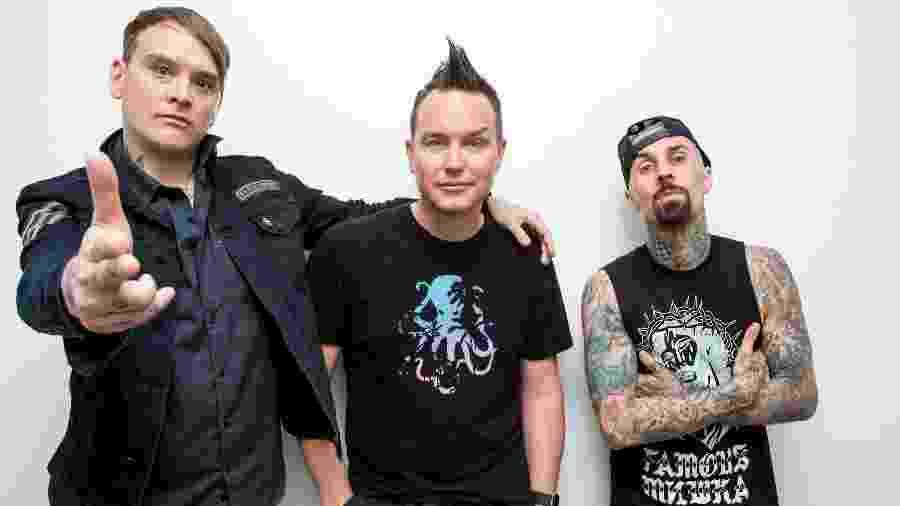 blink-182 em sua atual formação - Divulgação