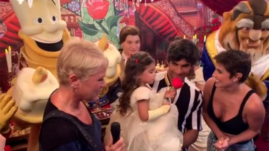 Xuxa canta parabéns para Maria Flor - Reprodução/Instagram