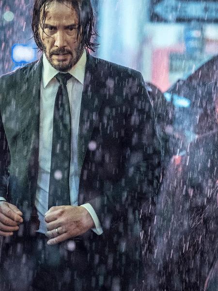 """Keanu Reeves em foto oficial de """"John Wick: Capítulo 3"""" - Reprodução/Entertainment Weekly"""