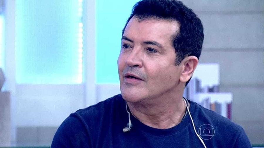 Cantor e compositor Beto Barbosa, que foi operado e, tudo indica, está livre do câncer - Reprodução TV Globo