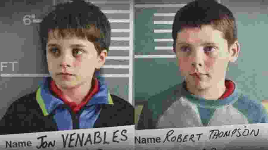 """""""Detainment"""", indicado a melhor curta-metragem, reproduz entrevistas conduzidas pela polícia com os dois meninos de 10 anos condenados pelo assassinato de James Bulger em 1993, caso que chocou a Grã-Bretanha. - Vincent Lambe"""