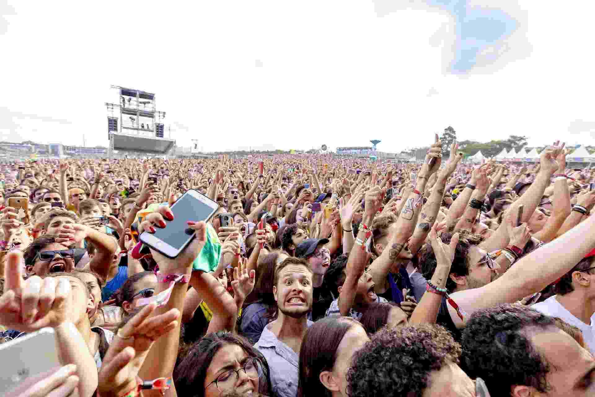 Público curte o primeiro dia de Lollapalooza Brasil 2019, no Autódromo de Interlagos, em São Paulo - Mariana Pekin/UOL
