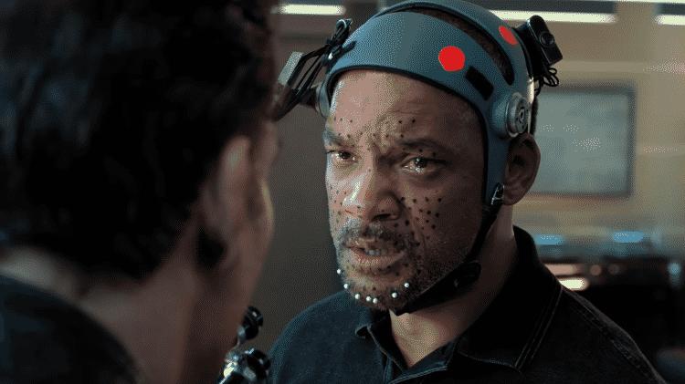 Will Smith nas filmagens de Projeto Gemini - Reprodução/YouTube