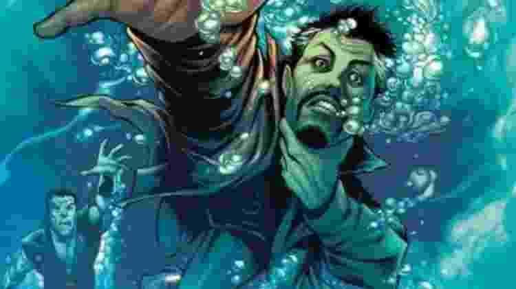 Versão da imagem postada por diretor sem corte mostra Namor ao fundo ao lado do Doutor Estranho - Reprodução/Internet