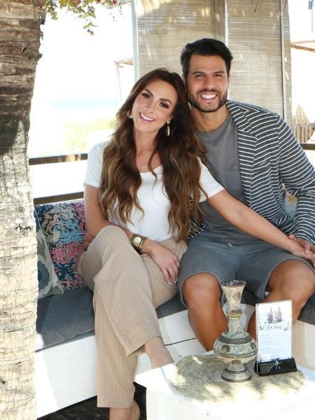 Nicole Bahls e Marcelo Bimbi estão juntos há três anos e se casaram em dezembro - Vinny Nunes/Divulgação