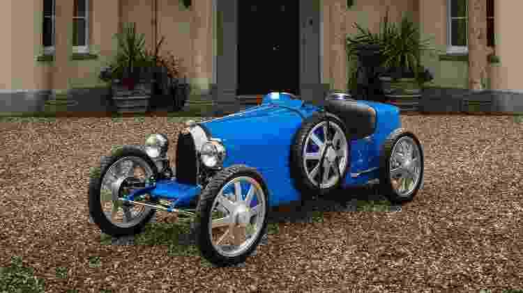 Bugatti Baby II terá modo para crianças, que limita a velocidade; modelo é réplica do Type 35 Lyon Grand Prix - Divulgação