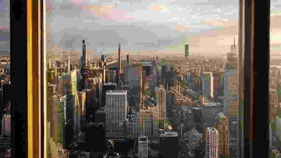As reformas ainda estão em andamento no Empire State Building - Instagram/empirestatebldg