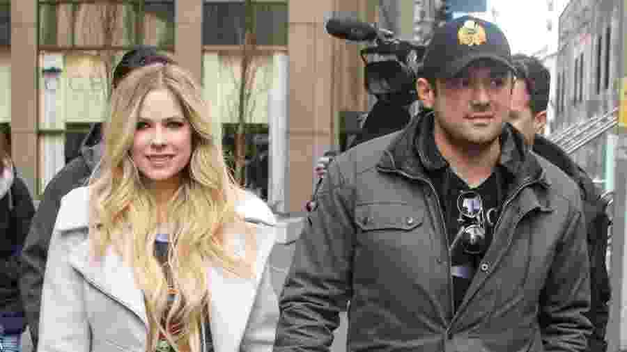 Avril Lavigne e o bilionário Phillip Sarofim - Jose Perez/Bauer-Griffin/GC Images