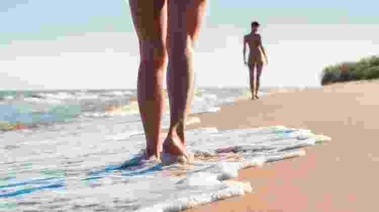 O número de adeptos ao naturismo ultrapassa 250 mil pessoas - Getty Images/iStockphoto - Getty Images/iStockphoto