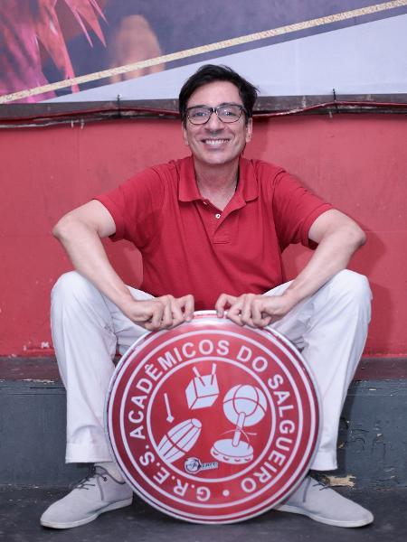 Alex de Souza, do Salgueiro - Divulgação