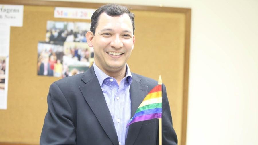 Coordenador de diversidade sexual de Crivella, Nélio Georgini (foto) é gay e presbiteriano - Divulgação