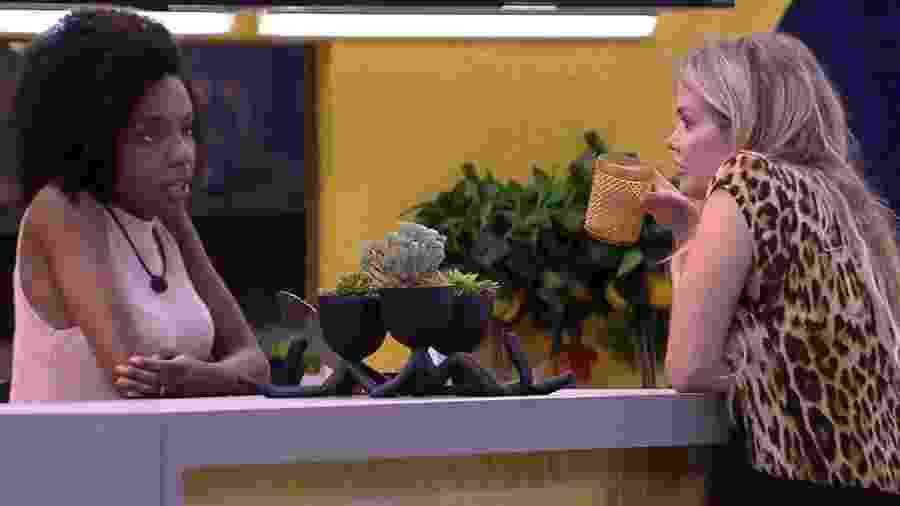 BBB 20: Thelma conta planos de Babu e Prior para Marcela - Reprodução/Globo