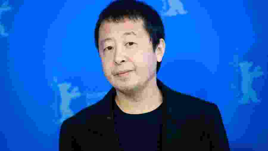 """22.02.2020 - Jia Zhangke em première de """"Nadando até o Mar Ficar Azul"""", no Festival de Berlim - DPS/Picture Alliance via Getty Images"""