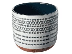Cachepô de cerâmica - Divulgação - Divulgação