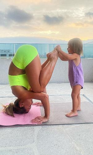 Sabrina Sato e a filha, Zoe