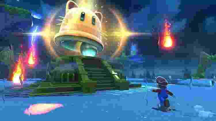Jogo do Mario Bowser's Fury - Divulgação/Nintendo - Divulgação/Nintendo