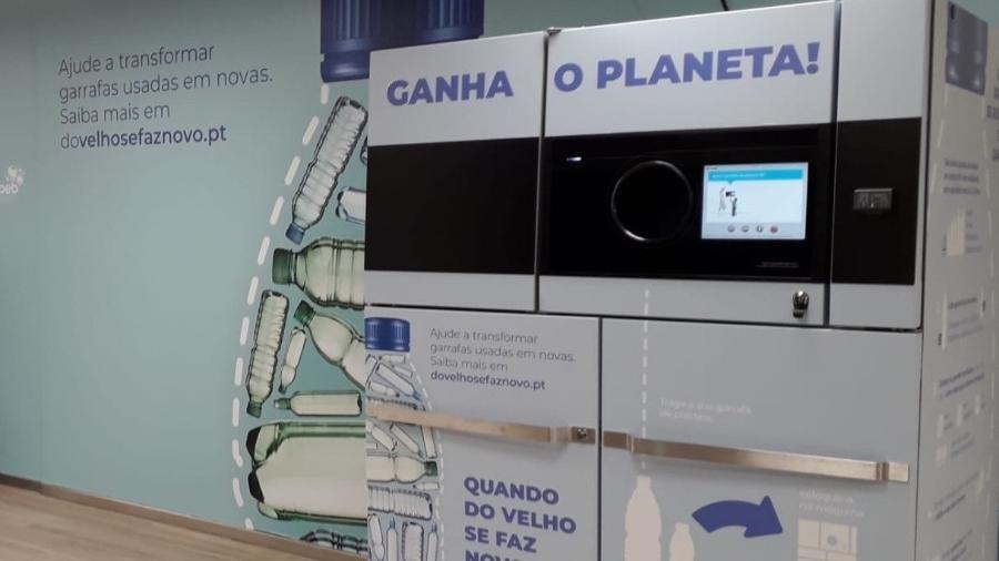 Equipamento para recolha de material reciclável em Portugal - Divulgação
