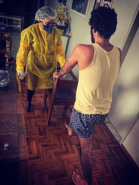 Thomás Aquino compartilhou foto - Reprodução/Instagram @thomasaquinooficial_