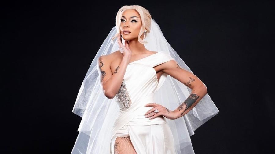 Pabllo Vittar vestida de noiva: era tudo encenação para seu próximo trabalho - Reprodução/Instagram/João Ribeiro