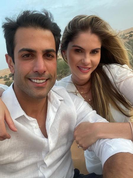Bárbara Evans e o marido, Gustavo Theodoro - Reprodução/Instagram