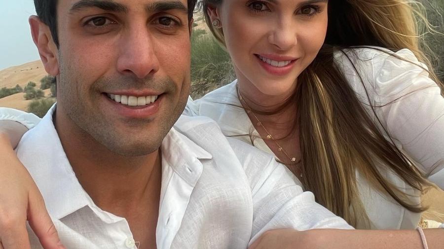 Bárbara Evans e Gustavo Theodoro - Reprodução/Instagram