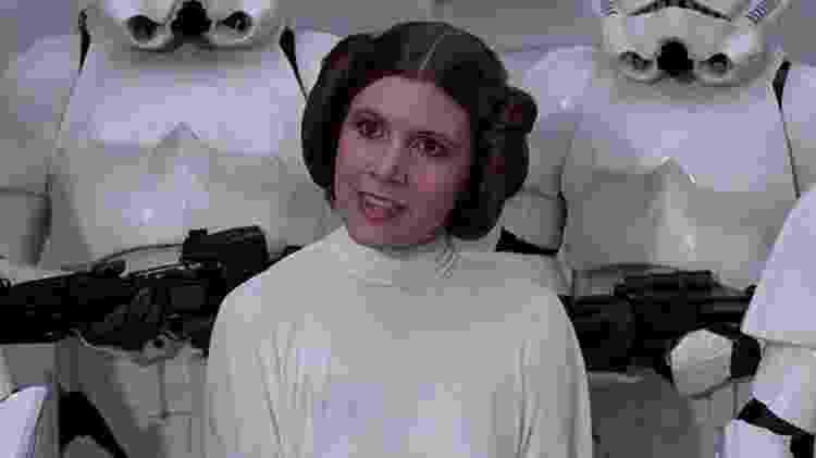 princesa leia - divulgação/Lucasfilm/Disney - divulgação/Lucasfilm/Disney