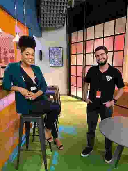 """Juliana Alves e Bernardo de Assis em cena de """"Salve-se Quem Puder"""" - Reprodução/Instagram - Reprodução/Instagram"""