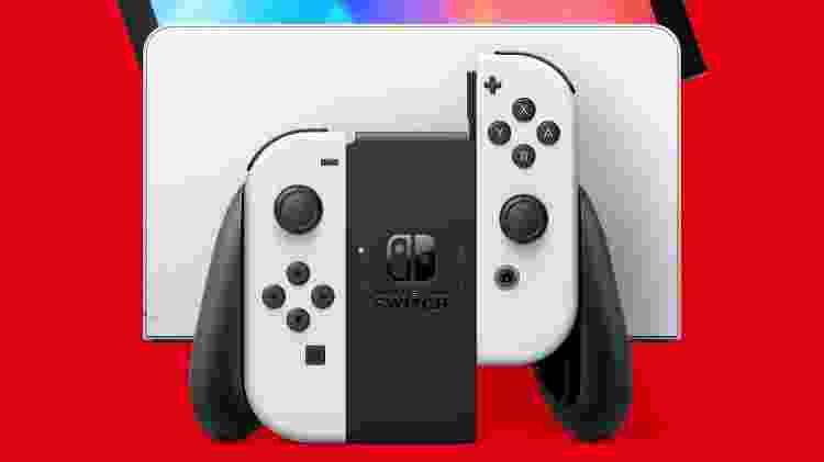 Nintendo Switch OLED - Divulgação/Nintendo - Divulgação/Nintendo
