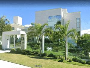 Mansão do cantor Eduardo Costa avaliada em R$ 10 milhões  - Reprodução/Google Maps - Reprodução/Google Maps
