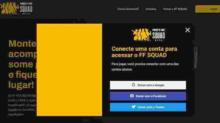 Free Fire Squad - Reprodução/Garena - Reprodução/Garena