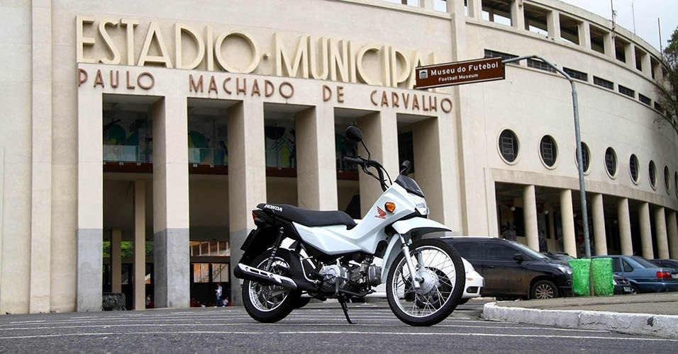Honda Pop 110i visita pontos turísticos de São Paulo