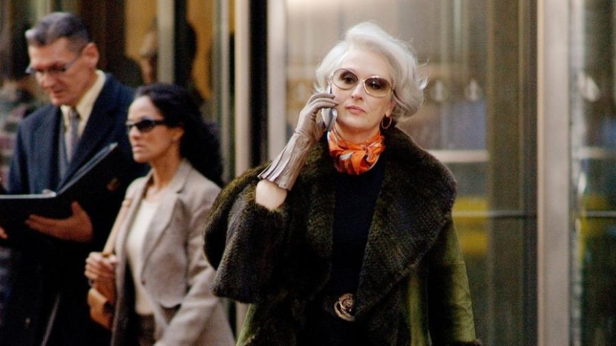 """Meryl Streep em """"O Diabo Veste Prada"""" - Divulgação"""