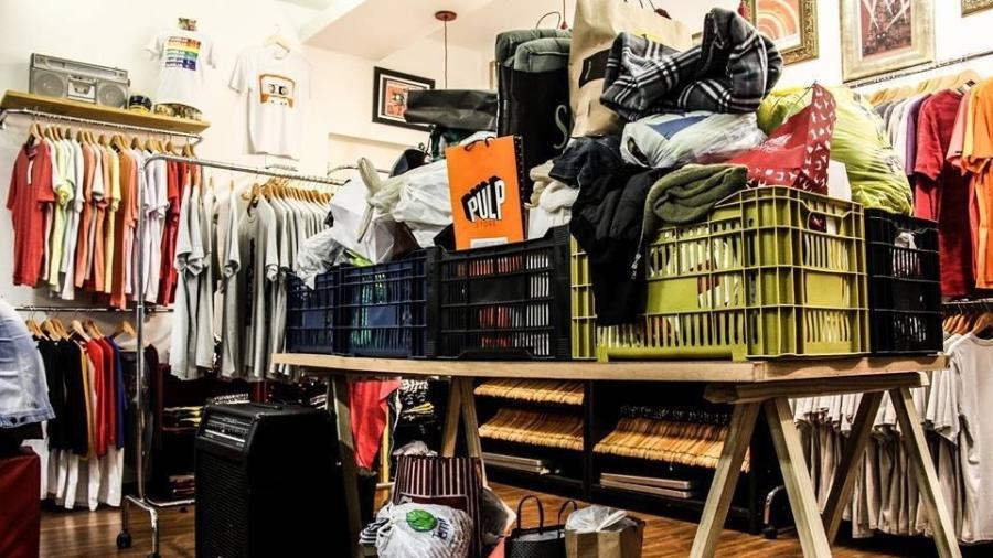 A loja fez evento de arrecadação e, em quatro dias, juntou cerca de 400 agasalhos para doação - Reprodução/Facebook/Pulp