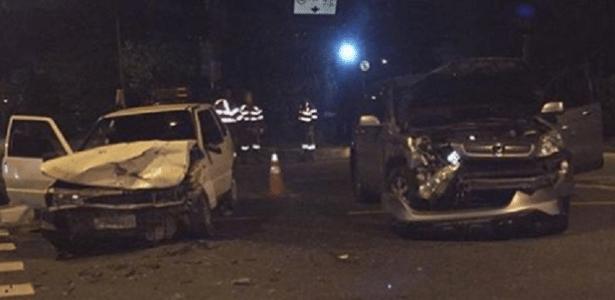 Thammy Miranda sofre acidente de carro, mas passa bem - Reprodução/Facebook/thammyoficial
