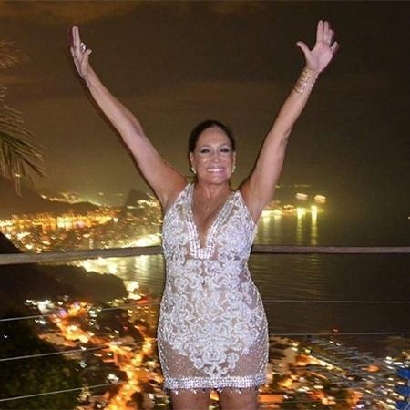 Susana Vieira passou a virada do ano no Morro do Vidigal  - Reprodução/Instagram/susanavieiraoficial