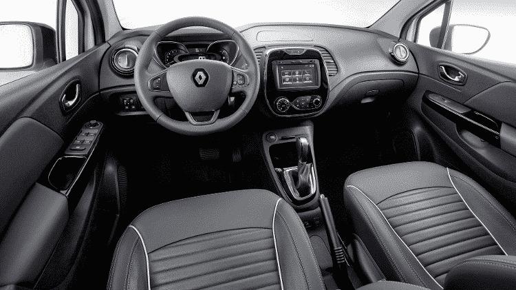 Renault Captur interior 2.0 - Divulgação - Divulgação